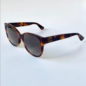 ee39f15368afb Gucci Accessories - Gucci Sunglasses Cat Eye GG0097S-006 Havana Brown